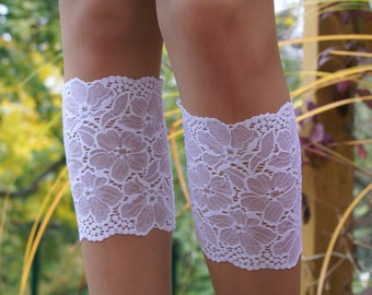 White Wedding Lace Boot Cuff Socks White Lace Boot Toppers White Lace Leg Warmers Spring Fashion