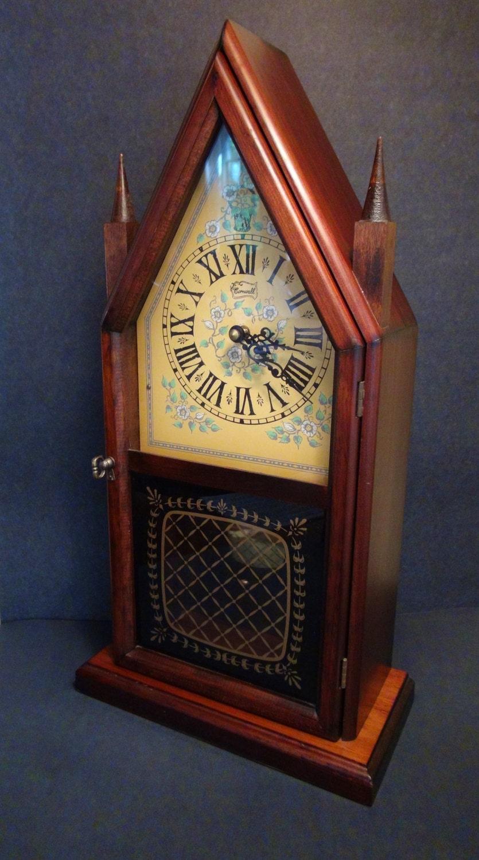 Vintage Mantle Clock Steeple Clock Cornwall Classics