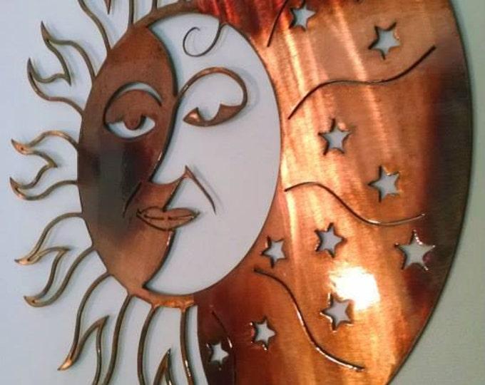 Celestial Sun, Moon, and Stars