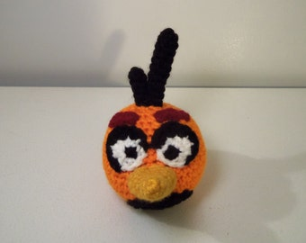 PDF Crochet Pattern - Angry Birds Orange Bird