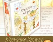 Keepsake Recipes Printables Kit For Your Binder
