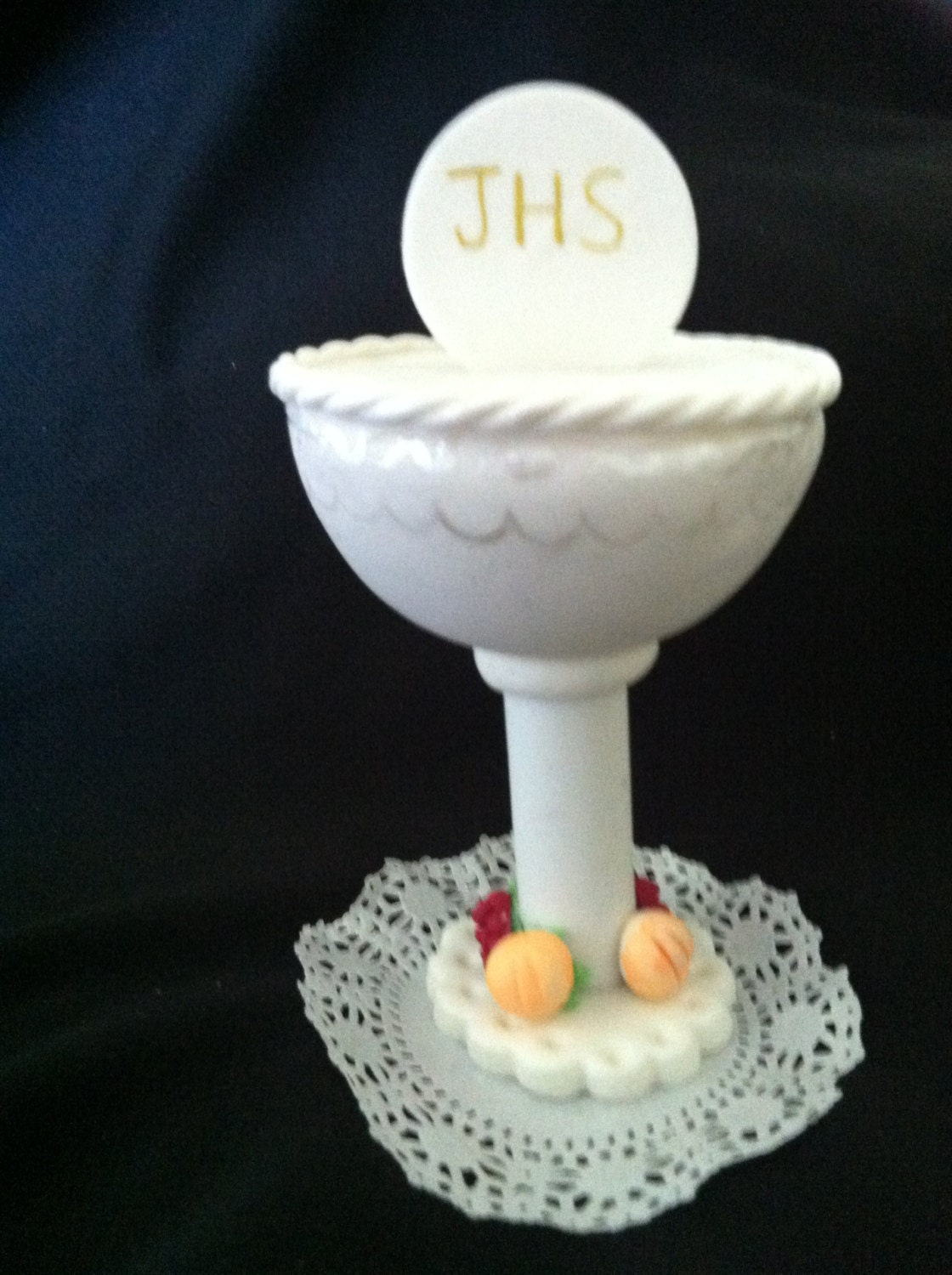 First communion chalice cake topper boy by caketoppersboutique - Holy communion cake decorations ...