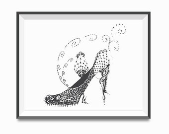 Shoe illustration also Interior Design Of Homes In The 1940s moreover Window Dressings moreover Single Story House Plans Designs furthermore Tapeter G C3 A5rden Korsn C3 A4s. on shabby chic bedroom designs