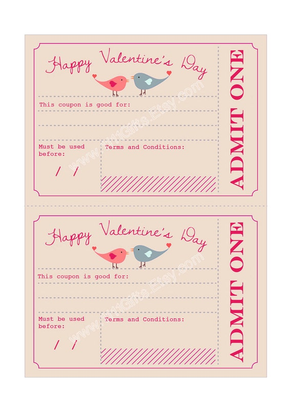 Valentine's day coupon ideas for her