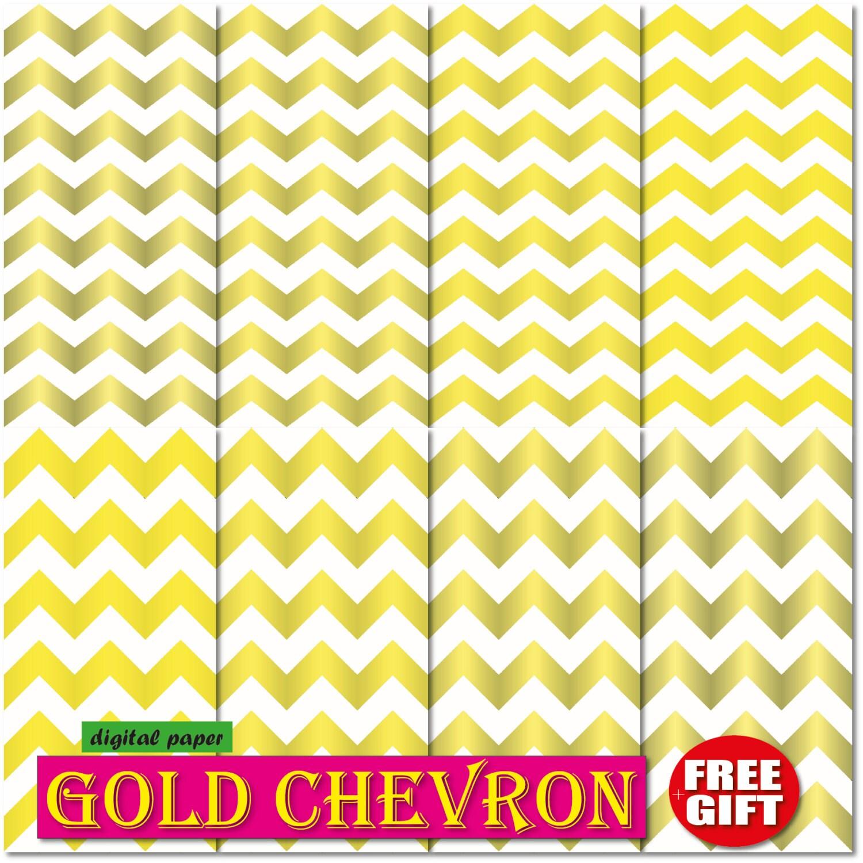 gold chevron digital paper chevron wallpaper border gold