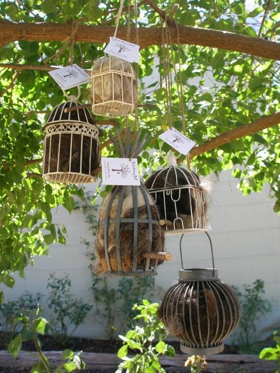 Bird Nester, Llama Fibre (Medium). Attract Native Birds to your Garden.