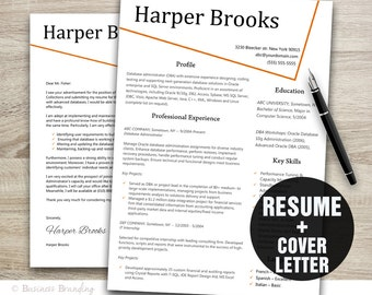 cv template creative resume template instant download resume cover letter template - Resume And Cover Letter Templates