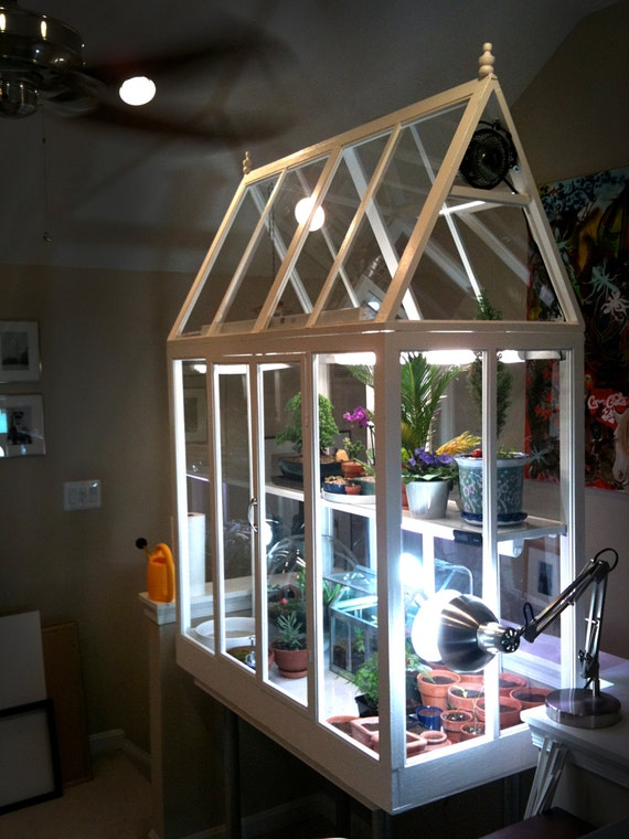 DIY Build your own indoor greenhouse! 132-page guide with ...