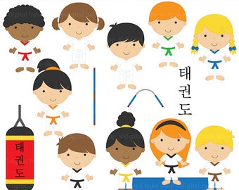 tae kwon do clipart taekwondo clip art - Tae Kwon Do Kids Clipart