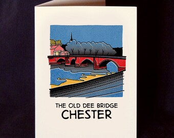Comic Book Chester Card with Envelope - Choose from 8 Designs