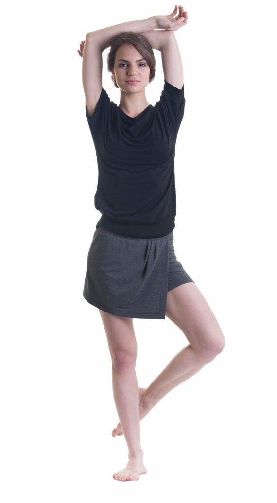 items similar to and asymmetric shorts bikram