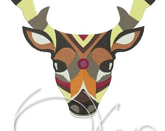 MACHINE EMBROIDERY FILE - Deer