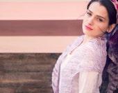 wedding lace shawl - wedding pink - bridal shawl - womens triangle shawl - bridal accessories
