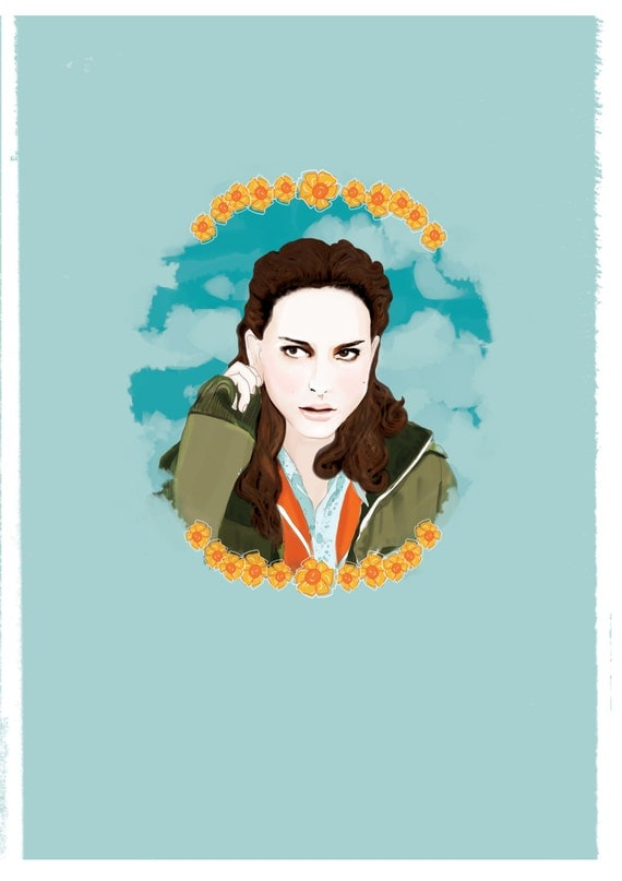 Natalie Portman Garden State By Andlizzy On Etsy