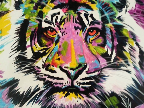 Pop Art Paintings Of Animals | www.imgkid.com - The Image ...