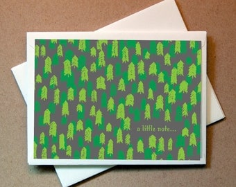 Pine Forrest Thank You Cards (24 cards and envelopes)
