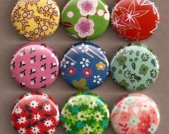 One Inch Magnet Set - Miscellaneous Floral 2