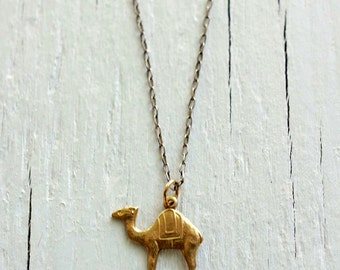 Camel Necklace / Game of Thrones / Gold filled or Sterling Silver chain