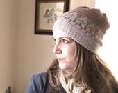 Rowhouse Hat Knitting Pattern PDF
