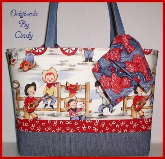Cowboy Diaper Bags : Cowboys diaper bag cowboy western boots hat denim by
