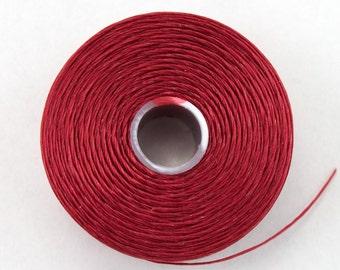 Red Superlon Nylon Size D Thread #LNB006