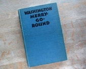 Large CUSTOM Journal Vintage 1932 Washington Merry-Go-Round