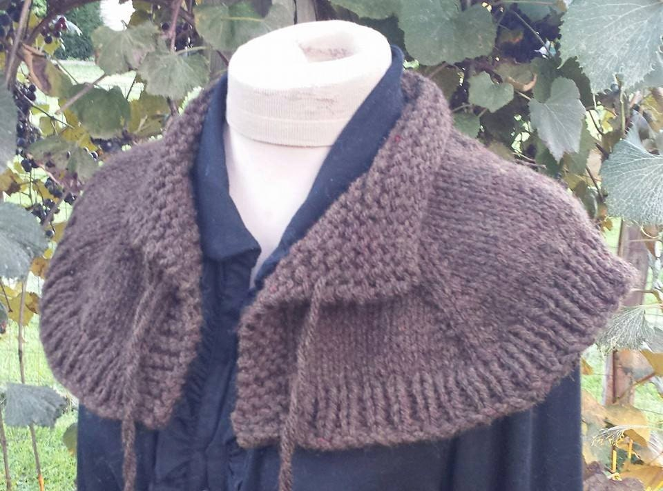 Outlander Knit Capelet Shoulder Wrap Free Shipping In Usa