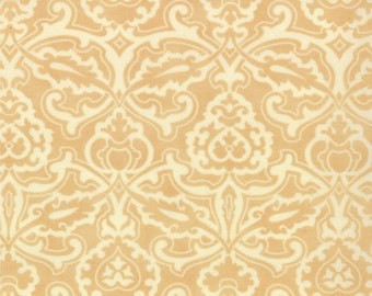 SALE - Honeysweet - Scrollwork in Biscuit: sku 20214-18 cotton quilting fabric by Fig Tree and Co. for Moda Fabrics - 1 yard