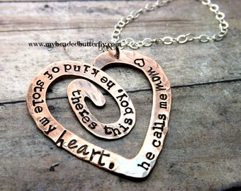 Hand stamped jewelry-so there's these boys... mommy necklace with charms
