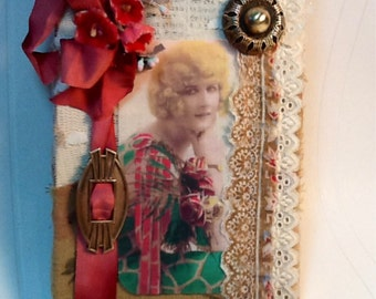 Mini Vintage Style Altered Book Journal