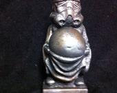 Rusted Metal Zen Trooper 2  Fat Buddha Stormtrooper Statue original  Sculpt and cast