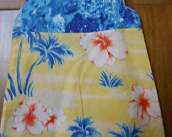 MadieBs Aloha Colors and Flowers in this Cute Toddler dress size 2/2T