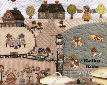 Popular items for reiko kato on etsy - Reiko kato patchwork ...