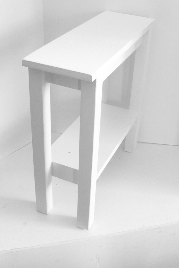 modern narrow table end table side table narrow table. Black Bedroom Furniture Sets. Home Design Ideas