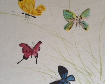 Butterflies - Chinese brush painting