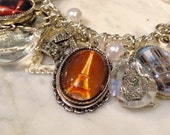 Paris Charm Bracelet Fully Loaded and Fashionable