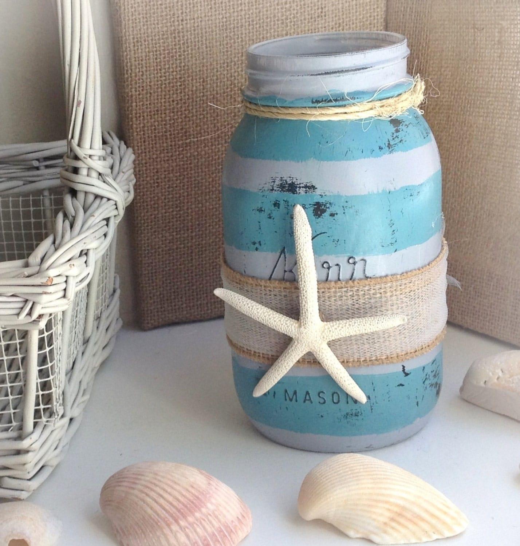 Beach Wedding Ideas Mason Jars