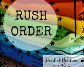 Rush Order Fee : Upgrade to 2-3 Business Days to Complete Order