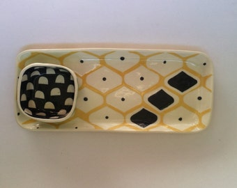 Ceramic serving tray-made to order