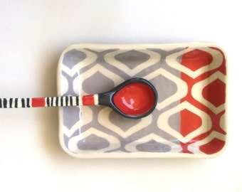 Two tone serving dish - made to order