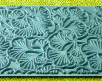GINGKO BILOBA Outie Leaves Texture Rubber Stamp TTL-609