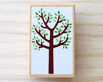 Nordic stamp - Lovely tree - Big size