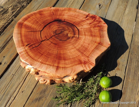 Natural Cherry Burl Wood Cutting Board or Serving by ...