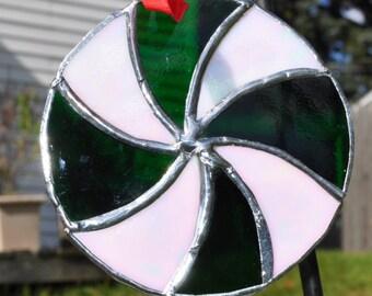 Spearmint ornament-suncatcher
