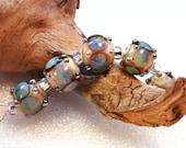 Jeanniesbeads Lampwork  Beads set 3215