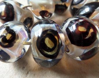 stoursglass Double Helix Window Murrini Lampwork Beads