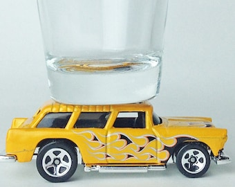 The ORIGINAL Hot Shot, Shot Glass, Chevy Nomad, Hot Wheels