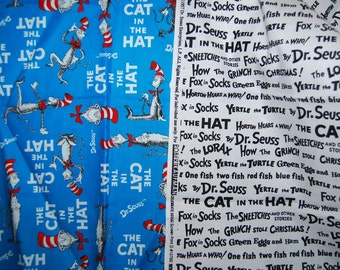 Dr. Seuss Cat in the Hat fabric