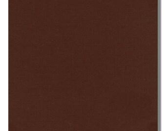 BROWN - Kona Cotton Fabric, By the Yard, K001-1045