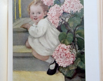 1913 Yourself and Your House Wonderful Childrens Health Book Beautiful Illustrations by Eugenie Wireman